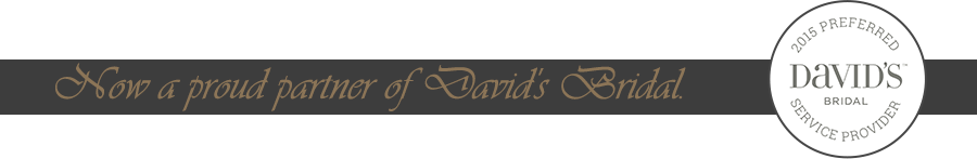 Now a Proud Partner of David's Bridal