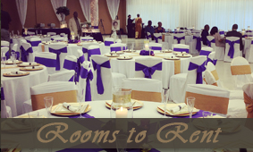 Head Table at Wedding Reception - Event Venue
